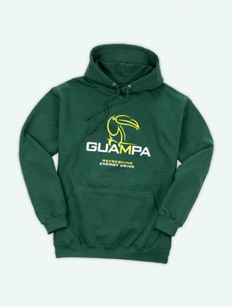Guampa Hoodie Energy Drink Energydrink Tukan Front