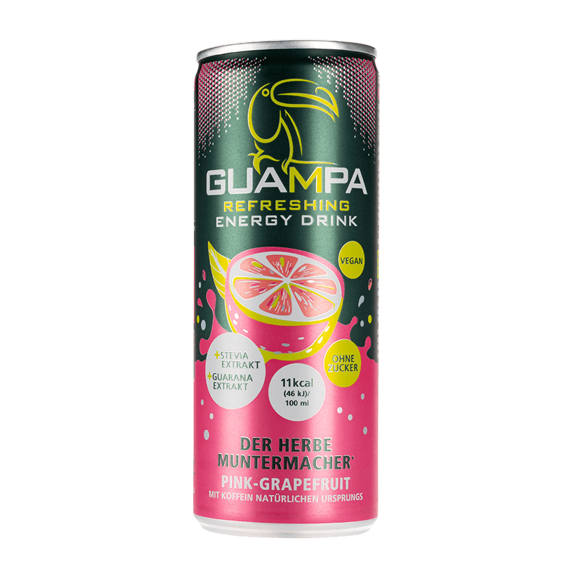 Guampa Pink Grapefruit Energy Drink