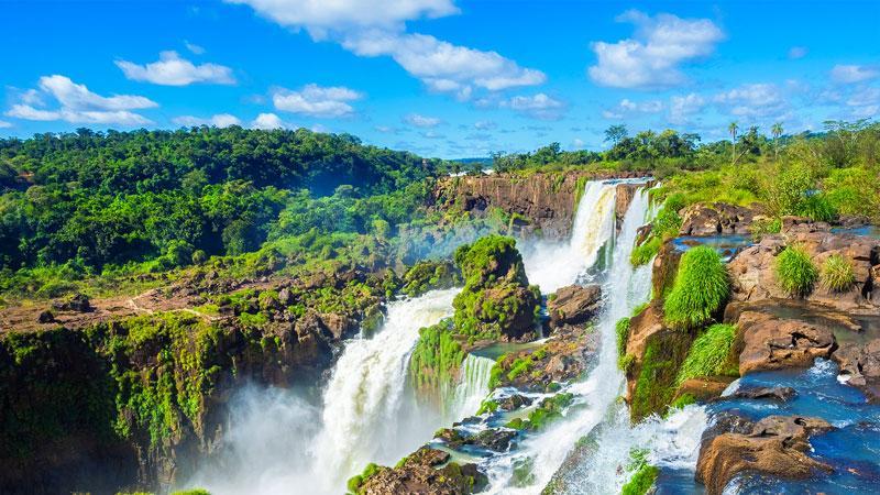 Wasserfälle Tropen Urwald