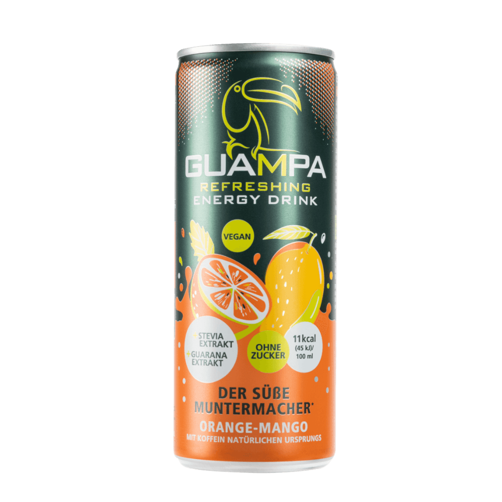GUAMPA Energy orange-mango