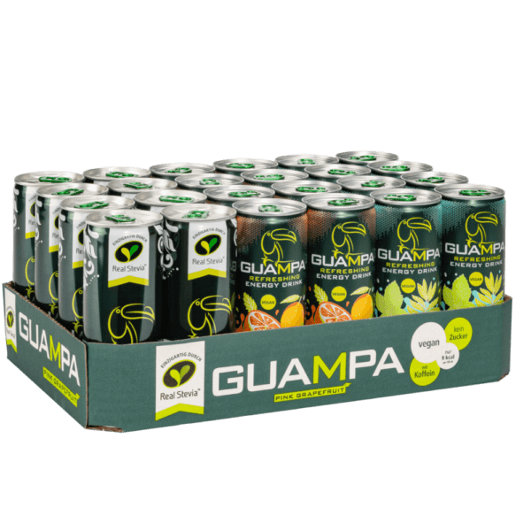 GUAMPA Energy 24er Tray Mixed