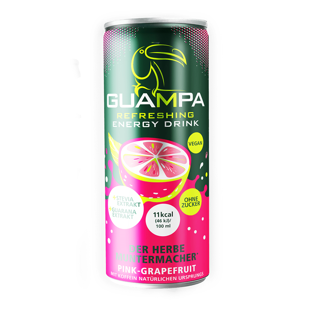 Guampa Pink Grapefruit Energy Drink