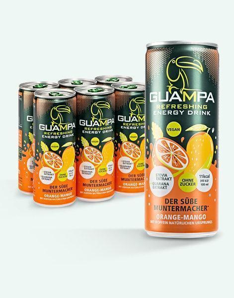 GUAMPA Energy orange-mango